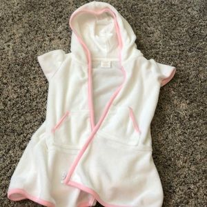 Gymboree zippered cover up